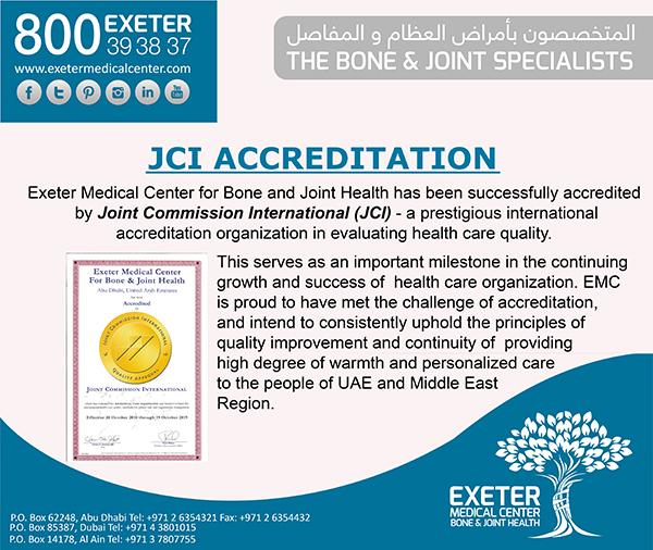 Latest News - Exeter Bone & Joint | Foot Surgery Dubai